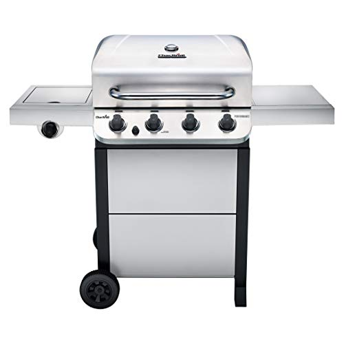 Char-Broil 463377319 Performance Stainless Steel 4-Burner Cart Style Gas Grill (Best Compact Gas Grill)