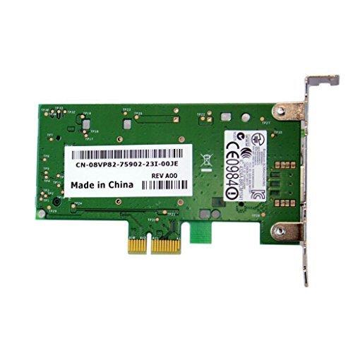 New Dell DW1520 KVCX1 8VP82 Wireles Low Profile PCI-e Card w/ RU297 WX492 Antena by Dell (Image #2)