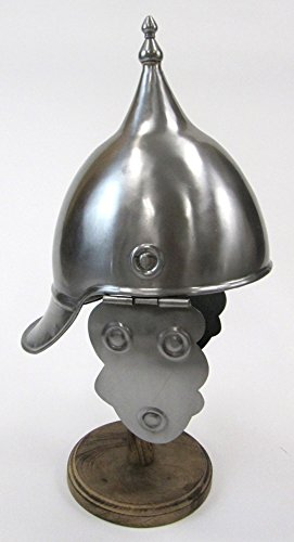[Medieval Sallet Helmet W/ Ear Protection - Steel - Wearable Costume Armor] (Authentic Stormtrooper Costume For Sale)