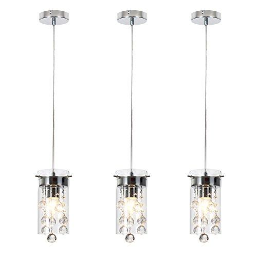 Glass And Crystal Pendant Lights
