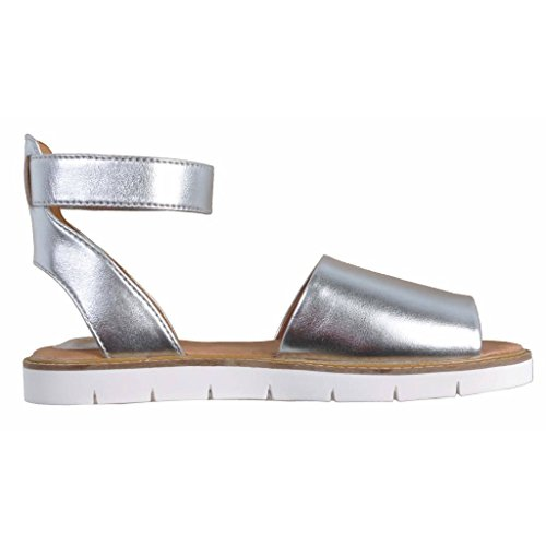 Sandalias y chanclas para mujer, color Plateado , marca CLARKS, modelo Sandalias Y Chanclas Para Mujer CLARKS LYDIE HALA Plateado