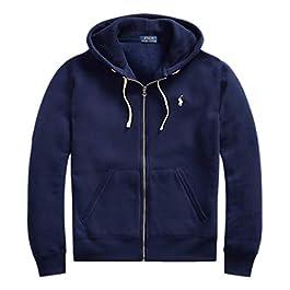 Men's Cotton-Blend-Fleece Hoodie