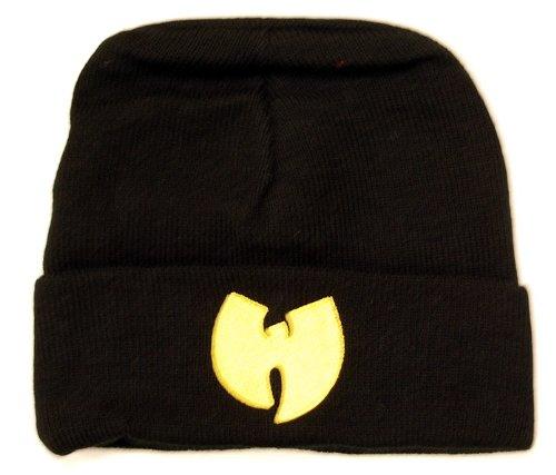 Wu Wear Wu-Tang clan Wu Symbol Beanie Mütze Bonnet black schwarz Wollmütze   Amazon.de  Bekleidung d289df08851