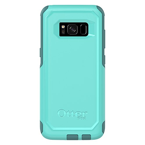 OtterBox Commuter Series for Samsung Galaxy S8 - Frustration Free Packaging - Aqua Mint Way (Aqua Mint/Mountain Range Green)
