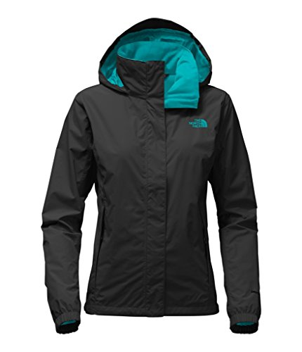 The North Face Women's Resolve 2 Jacket - TNF Black/Harbor Blue - L by The North Face