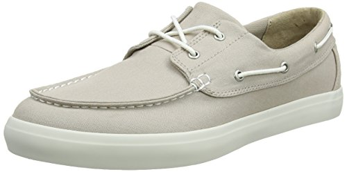 Timberland Union Wharf 2-Eye Boat Oxford Light Taupe (8 D(M) US) (Timberland 2 Eye)