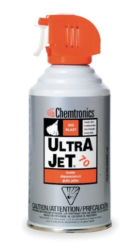 Gas Duster, Ultra-Jet, Trigger Spray, Non-Flammable, 10oz