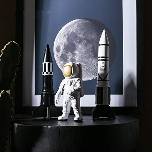 4 pcs/Set Contracted Contemporary Astronaut Decorates Resin to Put Out an Astronaut Shop Window to Display Handicraft