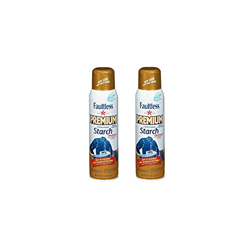 Faultless Premium Professional Starch 20 Ounce - 2 Pack by Faultless Premium