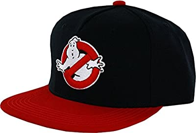 Concept One Accessories Ghostbusters Logo Flat Brim Snapback Hat from Concept One Accessories