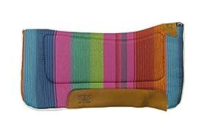 "Weaver Leather All Purpose 30"" x 30"" Contoured Saddle Pad with Felt Insert & Merino Wool Fleece Bottom"