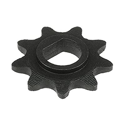 WhatApart 9 Tooth Sprocket (D-bore, use #25 Chain) for 100w 125w 150w 200w 250w 300w Electric Scooter Motors : Sports & Outdoors
