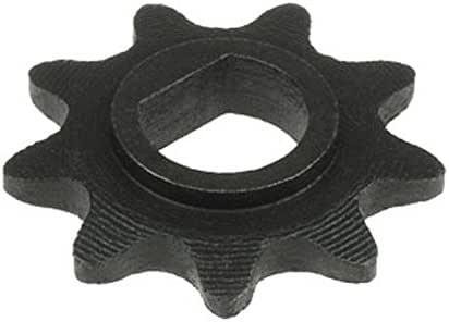 Amazon.com: 9 piñones de dientes (D-bore, uso #25 cadena ...