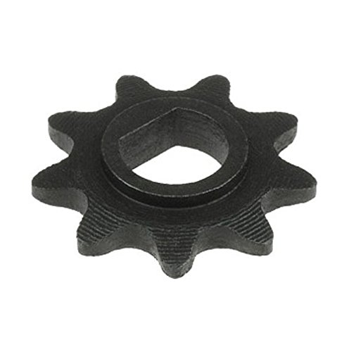 - 9 Tooth Sprocket (D-bore, use #25 chain) for 100w 125w 150w 200w 250w 300w electric scooter motors