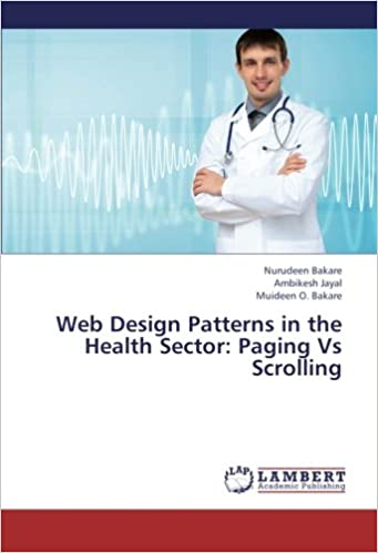 Web Design Patterns in the Health Sector: Paging Vs Scrolling