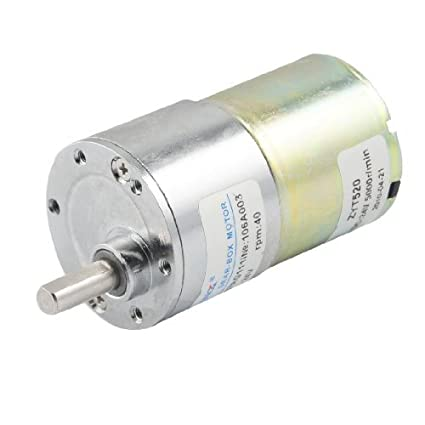 DealMux 40 rpm Velocidade de saída 36 milímetros de diâmetro 24V 0.33A DC Motor engrenado