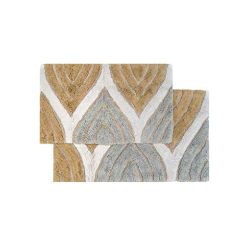 Chesapeake Davenport 2 Pc. Spa Bath Rug Set 44801 (21