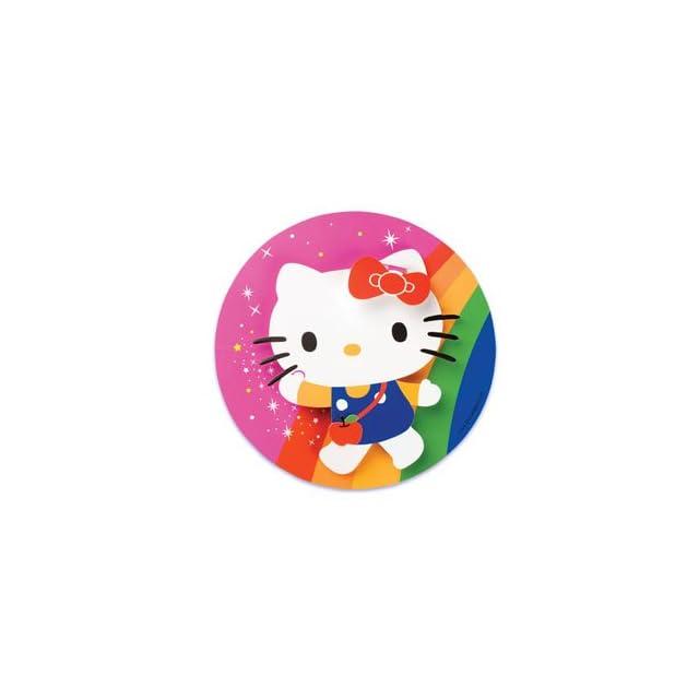 1 ct. ~ Hello Kitty Rainbow Cake Adornment ~ Cake Decoration