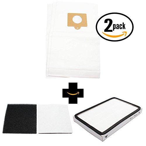 6 Replacement Kenmore 11625812506 Vacuum Bags, 1 HEPA Filter