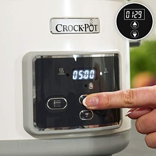 Crock-Pot CSC026X DuraCeramic - Olla de Cocción Lenta, 0 Decibeles ...