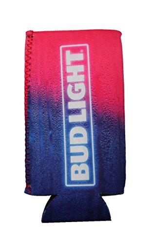 Bud Light Budweiser 16 oz Can Bottle Cooler Huggie Neoprene