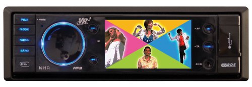 Roadmaster VR3 VRVD400IV iPod Video MP3 Player with AM/FM Stereo and Internal Docking Station