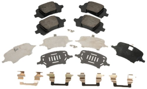 ACDelco 171-1092 GM Original Equipment Front Disc Brake Pad Kit with Brake Pads, Clips, and Shims