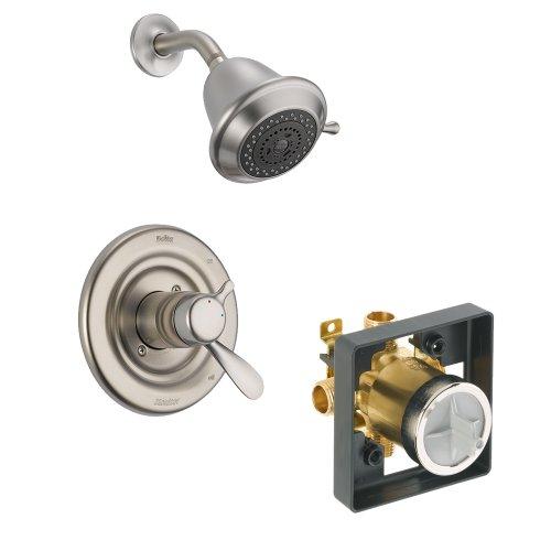 Shower Balance Classic Pressure (Delta Delta KSDCL-T17230-SS Classic Shower Kit Pressure-Balance Dual-Function Cartridge, Brilliance Stainless Brilliance Stainless)