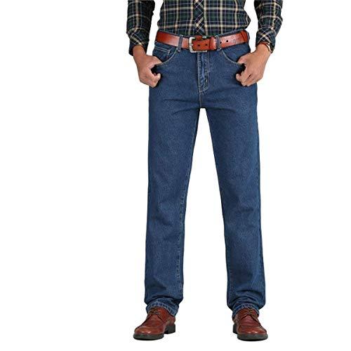 Vaqueros Primavera De Los Algodón Skinny La Alta Mezclilla T Rectos Otoño Clásicos 2018 Hombres Blackblue Pantalones HaIfww