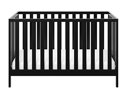 Storkcraft Pacific Convertible Crib  Black