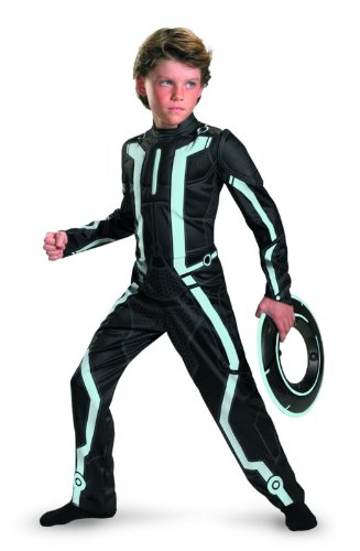 Tron Legacy Deluxe Costume - Medium (7-8)