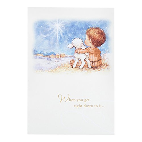 DaySpring Boxed Christmas Cards 18 Ct w Designed Envelopes - Only Jesus