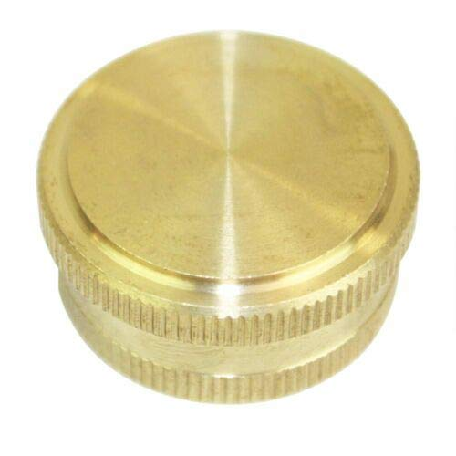 Kobika Sales 3/4'', Garden Water Hose End Cap Die Cast Brass FGC00 A, unused, unopened, Undamaged Item