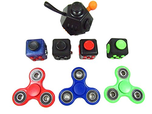 Oliasports Anxiety Attention Variety Pack 4 Fidget Cube Plus