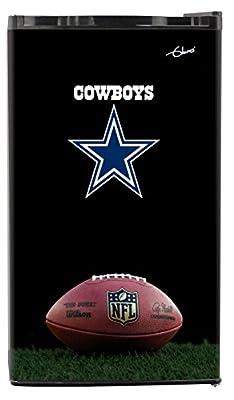 NFL Dallas Cowboys Top Refrigerated Beverage Center, 3 cu. ft., Black