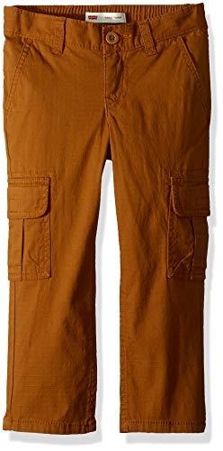 Image of Levi's Boys Regular Taper Fit Cargo Pants, Rubber, 20