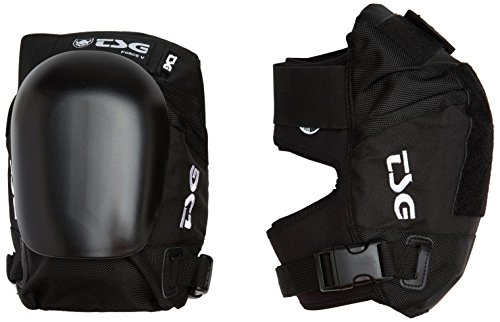 (TSG - Kneepad Force V Pads for Skateboard (Black, S))