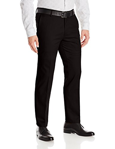 Dockers Men's Slim Fit Stretch Signature Khaki Pant D1, Black (Stretch), 32W x 32L -