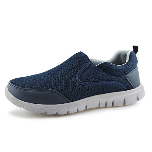 Hawkwell Mens Performance Sport Slip-on Loafer Sneaker Navy ZNqwScNxQt