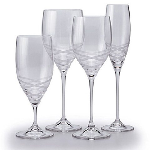 Vera Wang Crystal Blanc Sur Blanc Water - Crystal Goblet Wang Vera