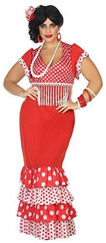 Atosa-38608 Disfraz flamenca, Color rojo, XL (38608: Amazon.es ...