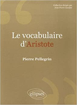 Le vocabulaire dAristote