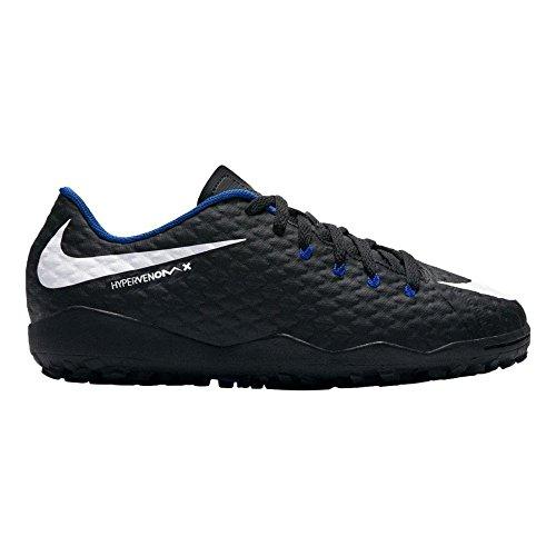 Nike Youth HypervenomX Phelon III Turf Soccer Shoe (3.5 M US Big Kid)