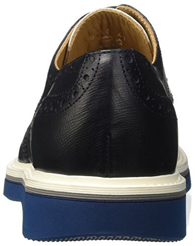 Harmont & Blaine E8050523, Scarpe Stringate Basse Derby Uomo Blu (Navy)