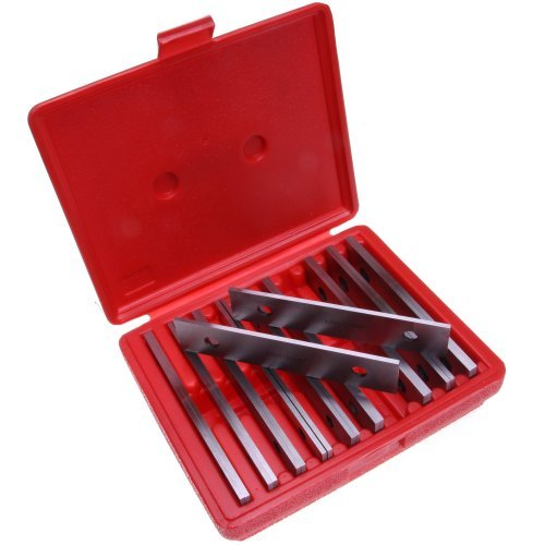 Anytime Tools 10 pairs MACHINIST THIN PARALLEL JIG BLOCK BAR TOOL SET