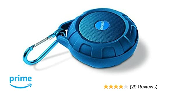Amazon.com: ISound ISOUND-6705 Blue Duratunes Water Resistant and Drop Proof Bluetooth Wireless Speaker – IPX4 Rated with Amazing Sound from a Compact Size: ...