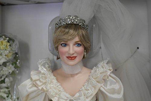 Franklin Mint Princess Diana Porcelain Wedding Bride Doll Limited (Bride Princess Doll)