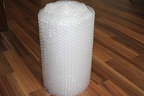 "Bubble Cushioning Wrap for Packaging, Shipping, Mailing Protection, 3/16"" x 12"" x 40' ft (Small), Perforated Every 12"""