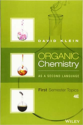 Organic Chemistry As a Second Language: First Semester Topics, 4th Edition eBook