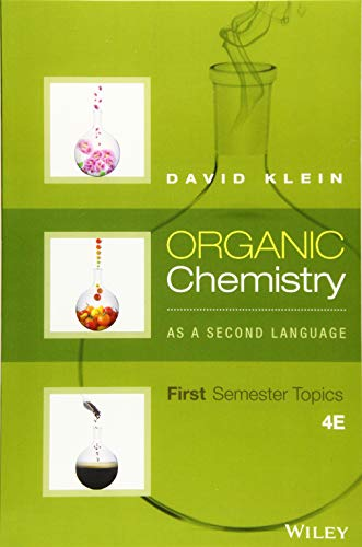 Organic Chemistry As a Second Language: First Semester Topics ()